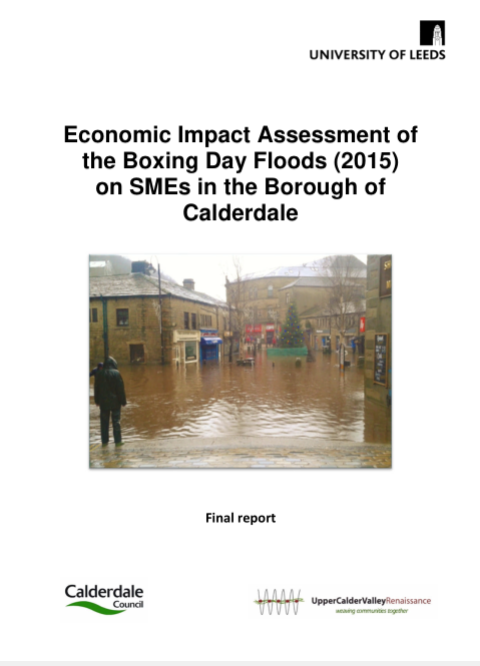 OUT NOW: Economic Impact Report – Boxing Day Floods 2015
